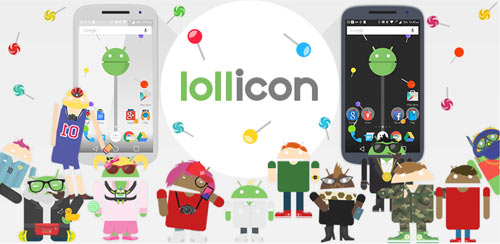Lollicon Launcher Theme v2.3