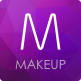 Makeup-hair and eye color789