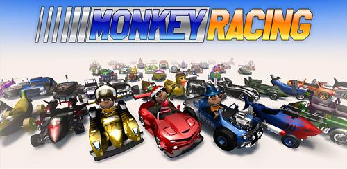 دانلود بازی مسابقات میمون ها اندروید Monkey Racing v1.0