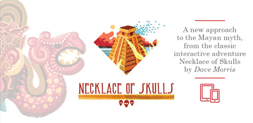 Necklace of Skulls – Gamebook v2.1 + data