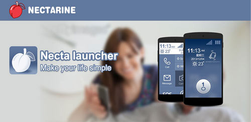 Necta Launcher(for senior) v1.4.2