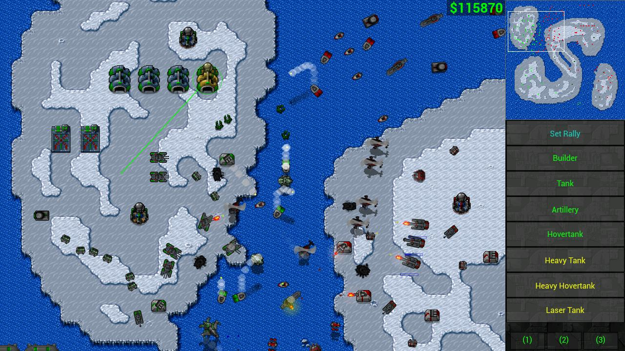Rusted Warfare – RTS Strategy v1.11