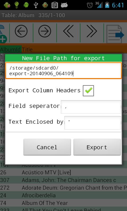 SQLite Master Pro v2.41