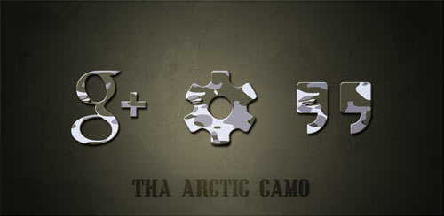 Tha Arctic Camo – Icon Pack v3.6