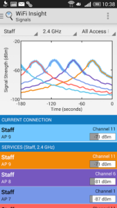 تصویر محیط WiFi Insight WiFi Analyzer v1.0.2