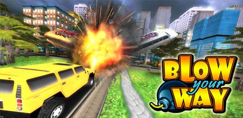 دانلود بازی مسیرت را منفجر کن اندروید Blow your Way v1.2