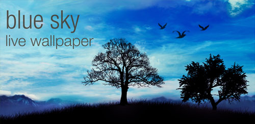 Blue Sky Pro Live Wallpaper v1.5.4