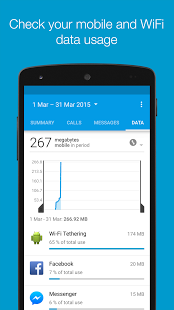 Callistics – Calls, Data usage Premium v2.6.4