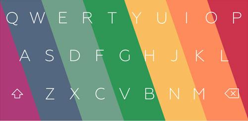 Flat Style Colored Keyboard Pro v1.18