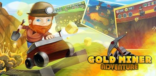 دانلود بازی ماجراجویی معدنچی طلا Gold Miner Adventure v1.0.4