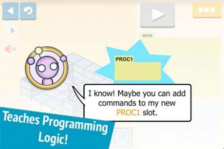 آموزش مفاهیم پایه برنامه نویسی به کودکان بر روی اندروید :: آموزش ...بازی Lightbot مفاهیم یادگیری تجربی مانند روش ها، حلقه ها و شرط ها را توسط یک ربات به کودک شما آموزش می دهد. فقط باید به ربات دستور دهید تا کاشی ها ...
