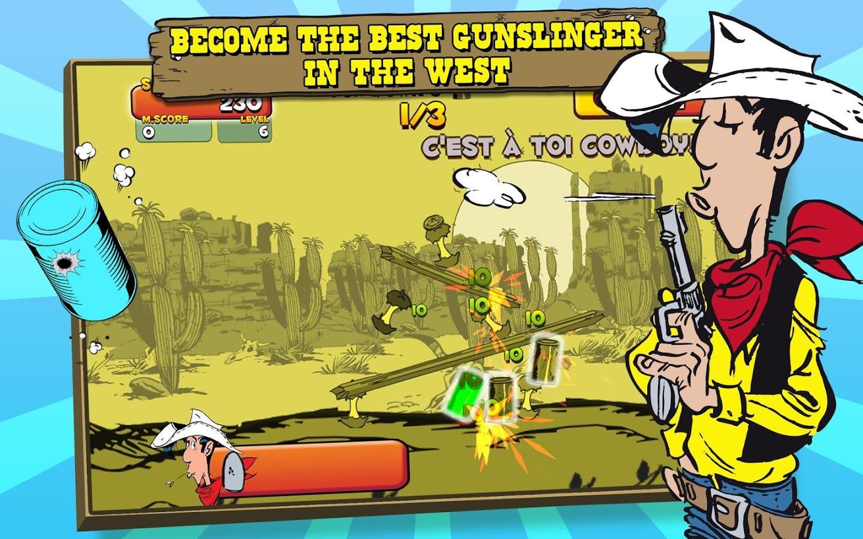 دانلود بازی تیراندازی لوک خوش شانس Lucky Luke Shoot & Hit!