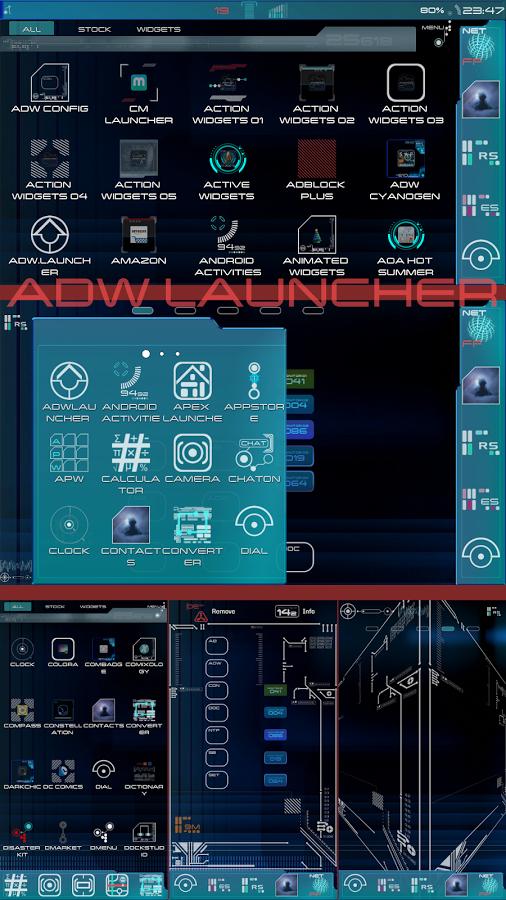 New Trek LCARS Launcher v1.0