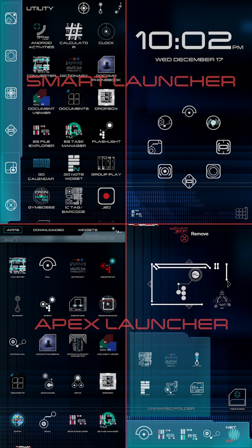New Trek LCARS Launcher v1.0