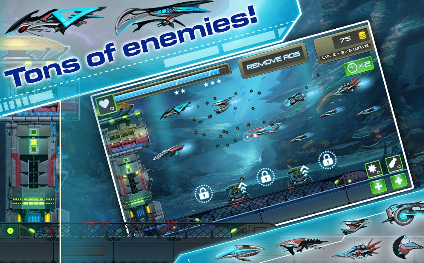 Undersea Attack: Tower Defense 1.0.0