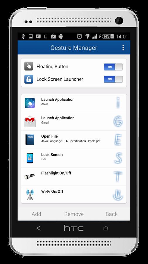 iGest Premium – Gesture Launcher v2.5.0.9