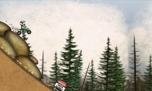 تصویر محیط Stickman Downhill Motocross v3.7