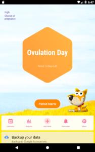 تصویر محیط Period Tracker, Ovulation Calendar & Fertility app v1.50.57.59