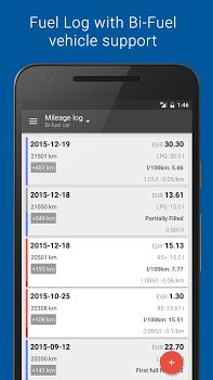 Fuelio: Gas log & costs v7.3.8