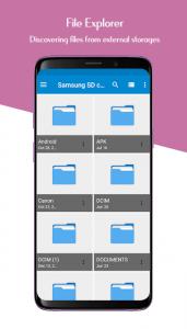 تصویر محیط File Manager – Easy file explorer & file transfer v2.0.3