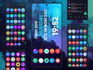 تصویر محیط Hera Icon Pack – Circle Icons ? v5.2