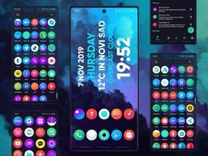 تصویر محیط Hera Icon Pack – Circle Icons 🔥 v4.0