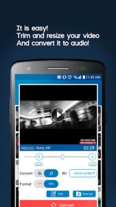 تصویر محیط Video MP3 Converter v2.5.5