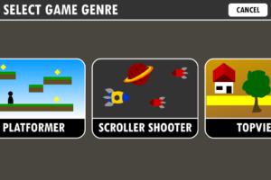 تصویر محیط Game Creator v1.0.58