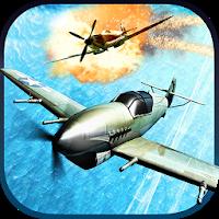 بازی هدایت هواپیما جنگی با گرافیک سه بعدی آیکون
