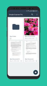 تصویر محیط Simple Scan – Free PDF Scanner App v4.5.7