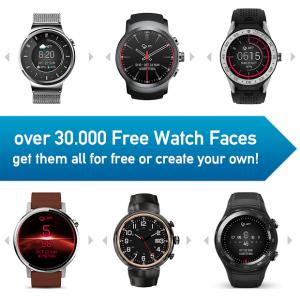 تصویر محیط Watch Face – Minimal & Elegant for Android Wear OS v3.8.6.014
