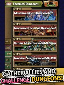 تصویر محیط Puzzle & Dragons v18.5.3