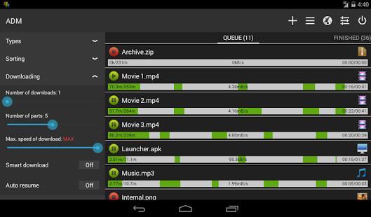 Advanced Download Manager Pro v5.1.2