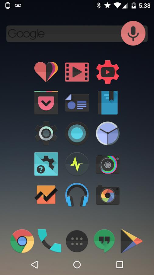 BLACK FLEX – Icon Pack v1.0