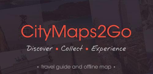 City Maps 2Go Pro Offline Maps v10.9 + Iran Map