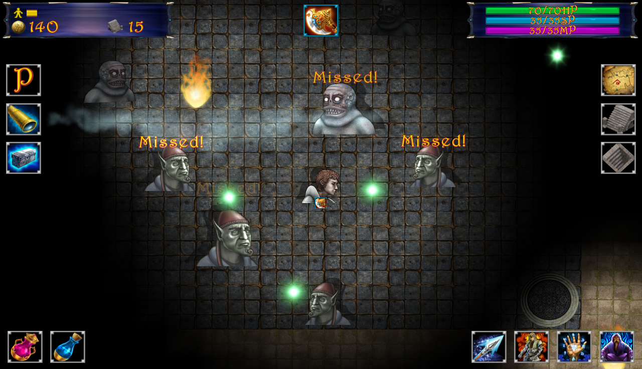 Down In The Deep (roguelike) v3.1