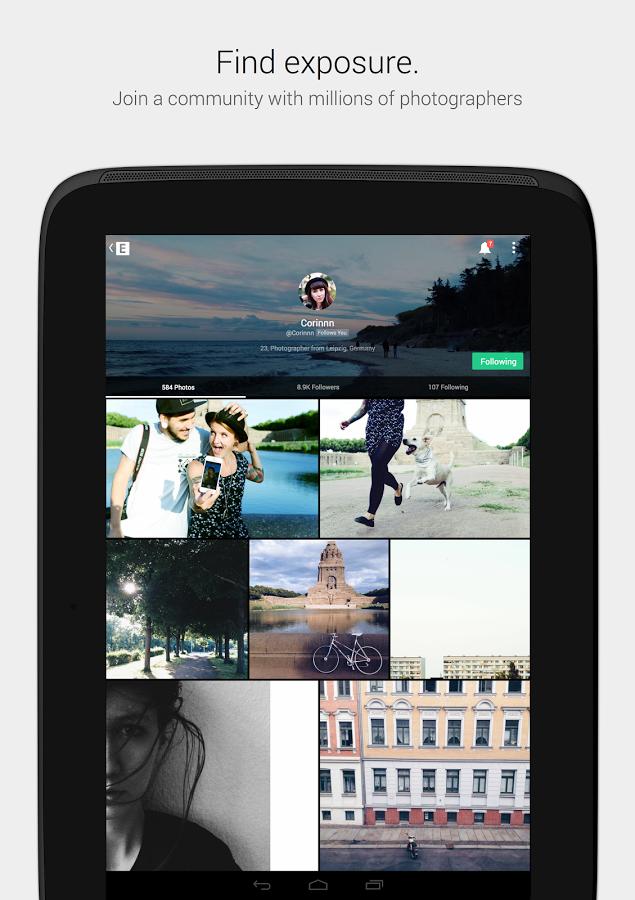 EyeEm: Camera & Photo Filter v5.14.2