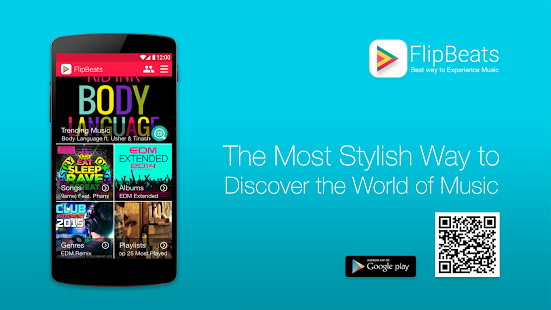 FlipBeats PRO – Best Music Player v1.1.15