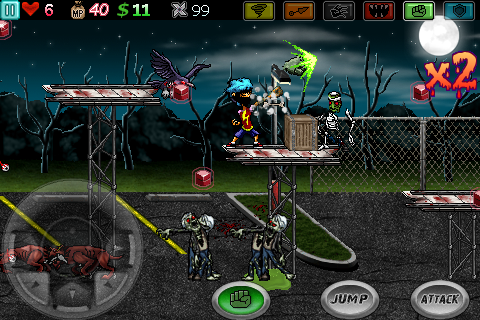 Ghost Ninja:Zombie Beatdown v1.1.0