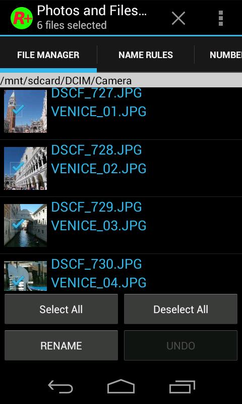 Photos and Files Renamer Professional v1.5