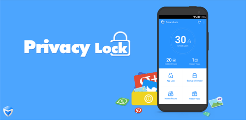 برنامه قفل اطلاعات شخصی+Privacy Lock 1.6 برای اندروید