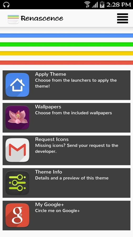 Renascence – Icon Pack v1.0.0