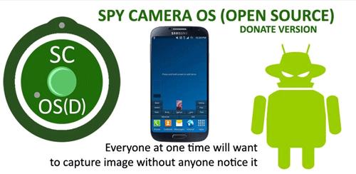 نرم افزار دوربین جاسوسی Spy Camera OS (Donate) برای اندروید