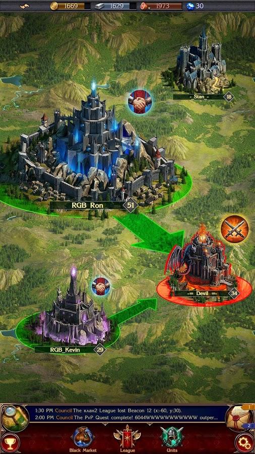 دانلود بازی بسیار زیبای Stormfall: Rise of Balur اندروید