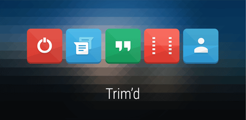 Trim'd Icon Pack v1.0