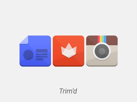 Trim'd Icon Pack v1.0