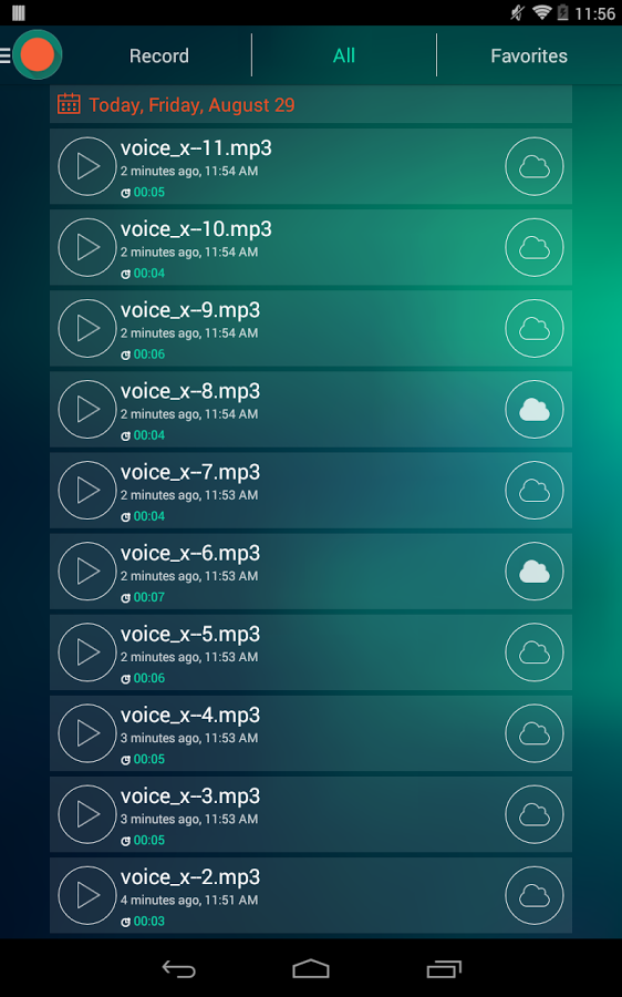 Voice Recorder – Dictaphone v1.5