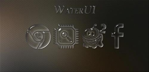 WaterUI – Icon Pack v1.0