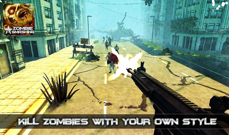 Zombie Smashing-Zombie Game v1.02