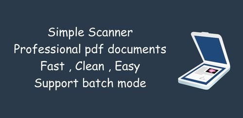 Simple Scan – Free PDF Scanner App v4.1